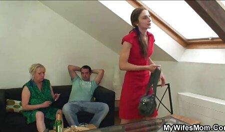 Sumisa esclava orgias abuelos calva Vlija disfruta de una brutal follada facial